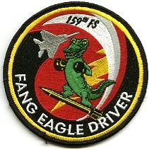 159th FIGHTER SQUADRON FLORIDA ANG F-15 PATCH
