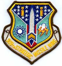 351st strategic missile wing patches